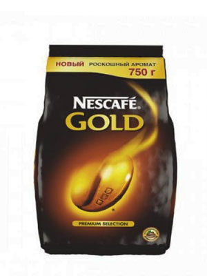 Кофе Nescafe Gold 750 гр