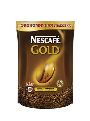 Кофе Nescafe Gold Ergos 95 гр