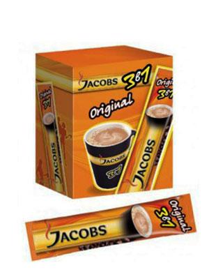Кофе Jacobs растворимый Original 3 в 1 20 шт по 15 гр