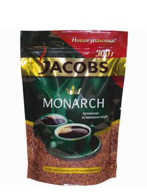 Кофе Jacobs растворимый Monarch 300 гр