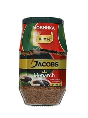 Кофе Jacobs растворимый Monarch Intense 95 гр