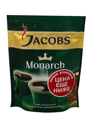 Кофе Jacobs растворимый Monarch 75 гр