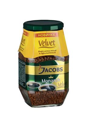 Кофе Jacobs растворимый Monarch Velvet 95 гр