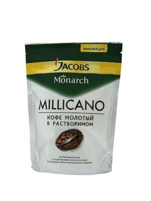Кофе Jacobs растворимый Monarch Millicano 75 гр