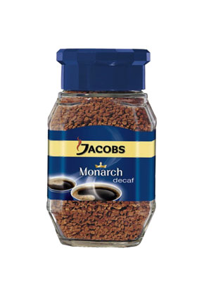Кофе Jacobs растворимый Monarch Decaf 95 гр