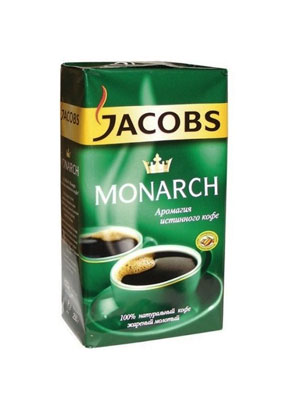 Кофе Jacobs молотый Monarch 250 гр