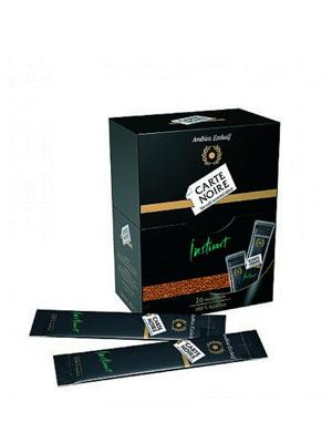 Кофе Jacobs Carte Noire стик 26 шт по 2 гр