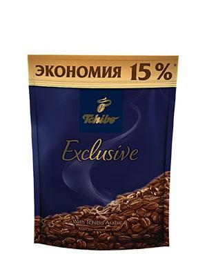 Кофе Tchibo растворимый Exclusive 150 гр +20 гр пакет