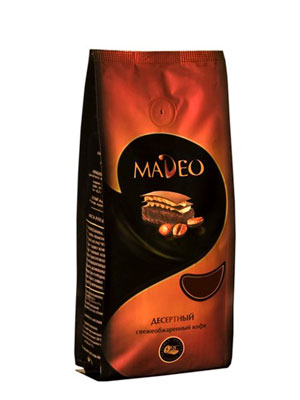 Кофе Madeo в зернах Ирландский крем 200 гр