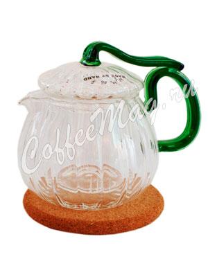 Чайник стеклянный Плющ (360 мл)