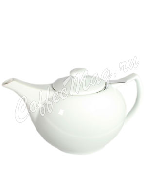 Чайник фарфоровый овальный 600 мл