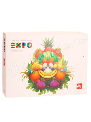Illy EXPO Фрукты 2+2 Под набор Эспрессо