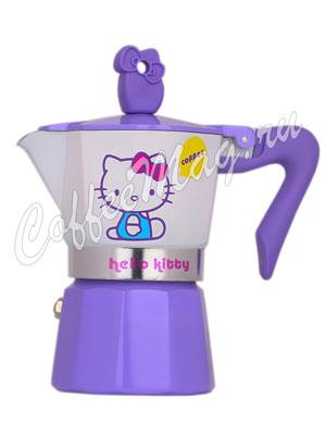 Гейзерная кофеварка Pedrini Hello Kitty 2 порции