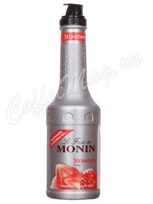Фруктовое пюре Monin Клубника 1 л