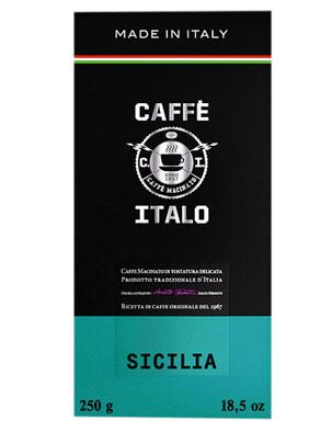 Кофе Italo молотый Sicilia 250 гр (ж.б.)