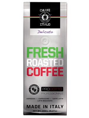 Кофе Italo в зернах Delicato 1 кг