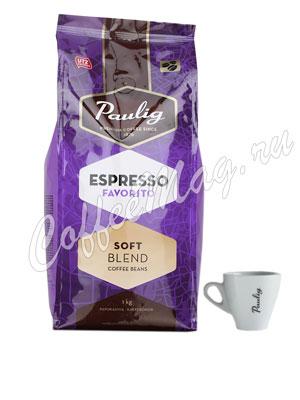 Кофе Paulig Espresso Favorito в зёрнах 1кг
