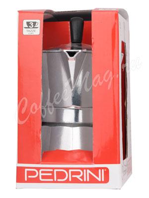 Гейзерная кофеварка Pedrini Sei Moka 0029 на 3 порции (120 мл)