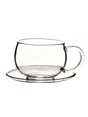 Чайная пара из стекла Hot