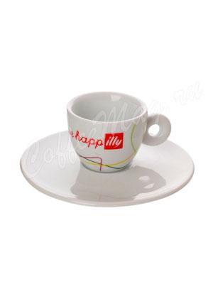 Чашка Illy Live Happy для эспрессо 60 мл