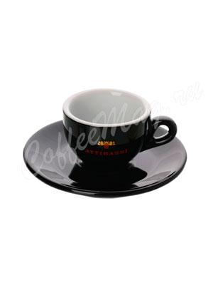 Чашка Attibassi для эспрессо 50 мл (черная)