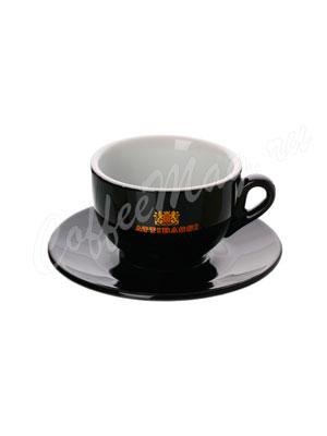 Чашка Attibassi для капучино 150 мл (черная)