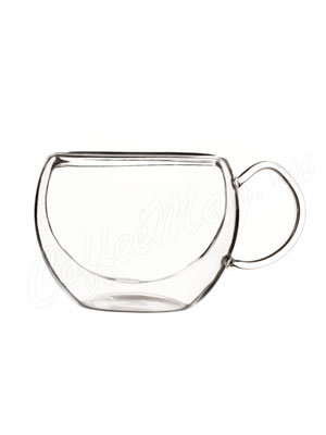 Чашка-термос Лилия с ручкой 260 мл