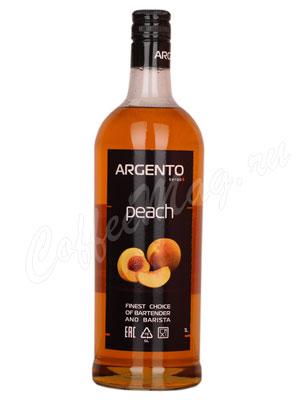 Сироп Argento Персик 1 литр