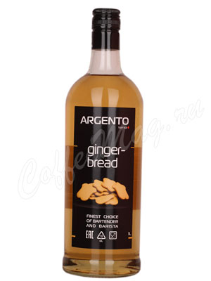 Сироп Argento Имбирный пряник 1 литр