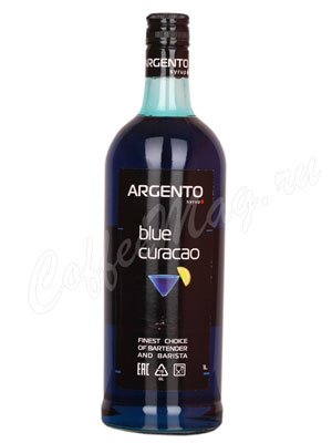 Сироп Argento Блю Кюрасао 1 литр