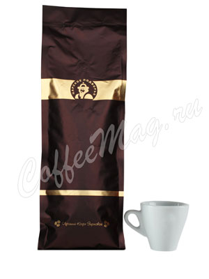 Кофе Царское Подворье в зернах Бархатный молоток 1 кг