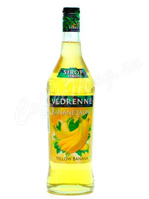 Сироп Vedrenne Желтый банан 1л