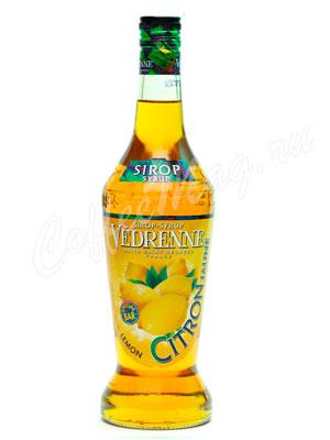 Сироп Vedrenne Лимон 0,7л