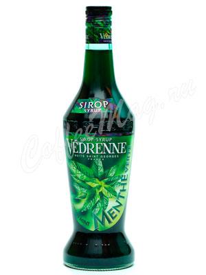 Сироп Vedrenne Зеленая Мята 0,7л