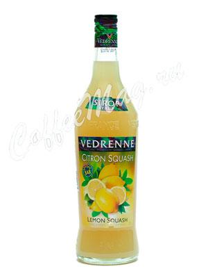 Сироп Vedrenne Лимон Сквош 1л