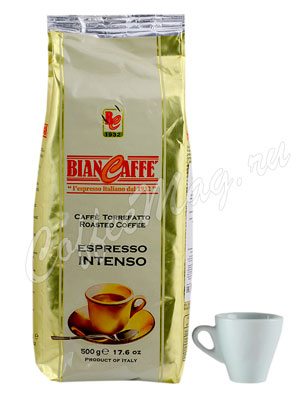 Кофе Biancaffe в зернах Espresso Intenso 500 гр
