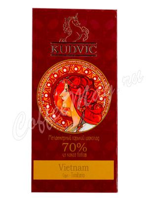 Шоколад Kudvic 70% из какао бобов Vietnam