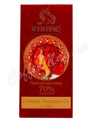 Шоколад Kudvic 70% из какао бобов Trinidad Plantation Gr.