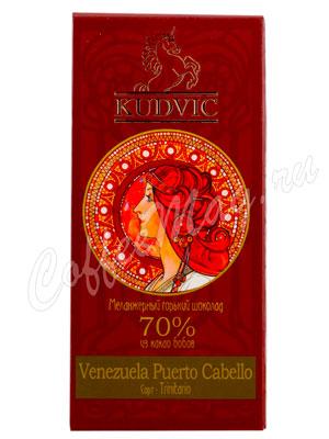 Шоколад Kudvic 70% из какао бобов Venezuela Puerto Cabello