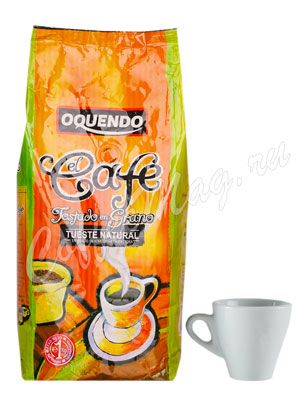 Кофе Oquendo в зернах El Cafe Natural 1 кг