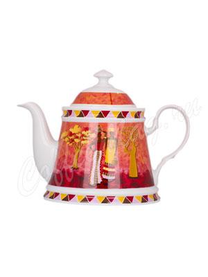 Чайник фарфоровый Африка 750 мл