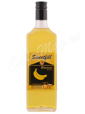 Сироп Sweetfill Банан 0,5 л
