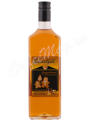 Сироп Sweetfill Имбирный пряник 0,5 л
