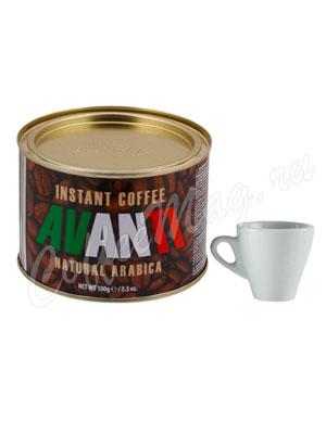 Кофе Avanti растворимый порошкообразный 100 гр ж.б.