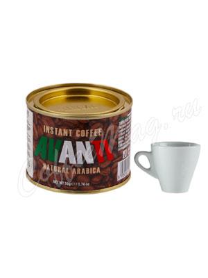 Кофе Avanti растворимый порошкообразный 50 гр ж.б.