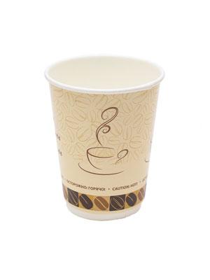 Стакан бумажный Thermo Cup двухслойный 300 мл Чашка кофе