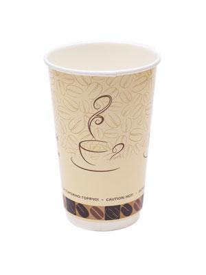 Стакан бумажный Thermo Cup двухслойный 400 мл Чашка кофе