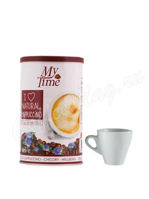Кофе My Time Soul Harmony Капучино с натуральным кофе и цикорием 200 гр ж.б.
