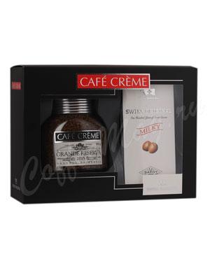 Подарочный набор Cafe Creme Grande Reserva и Swiss Original молочный шоколад