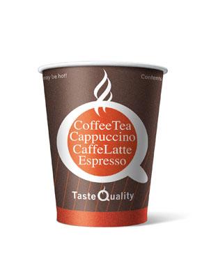 Стакан бумажный одноразовый Taste Quality 180 мл